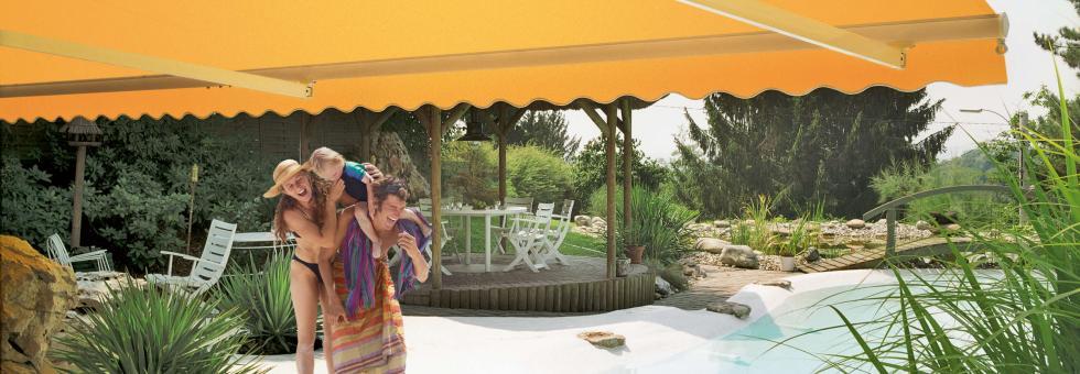 markise dim 250 outdoor produkte sonn well activ gmbh. Black Bedroom Furniture Sets. Home Design Ideas